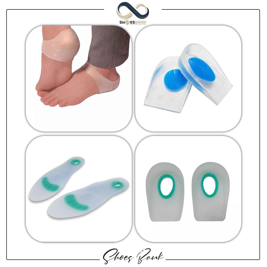 انواع ابزارهای مراقبتی از پا برای کاهش درد پاشنه