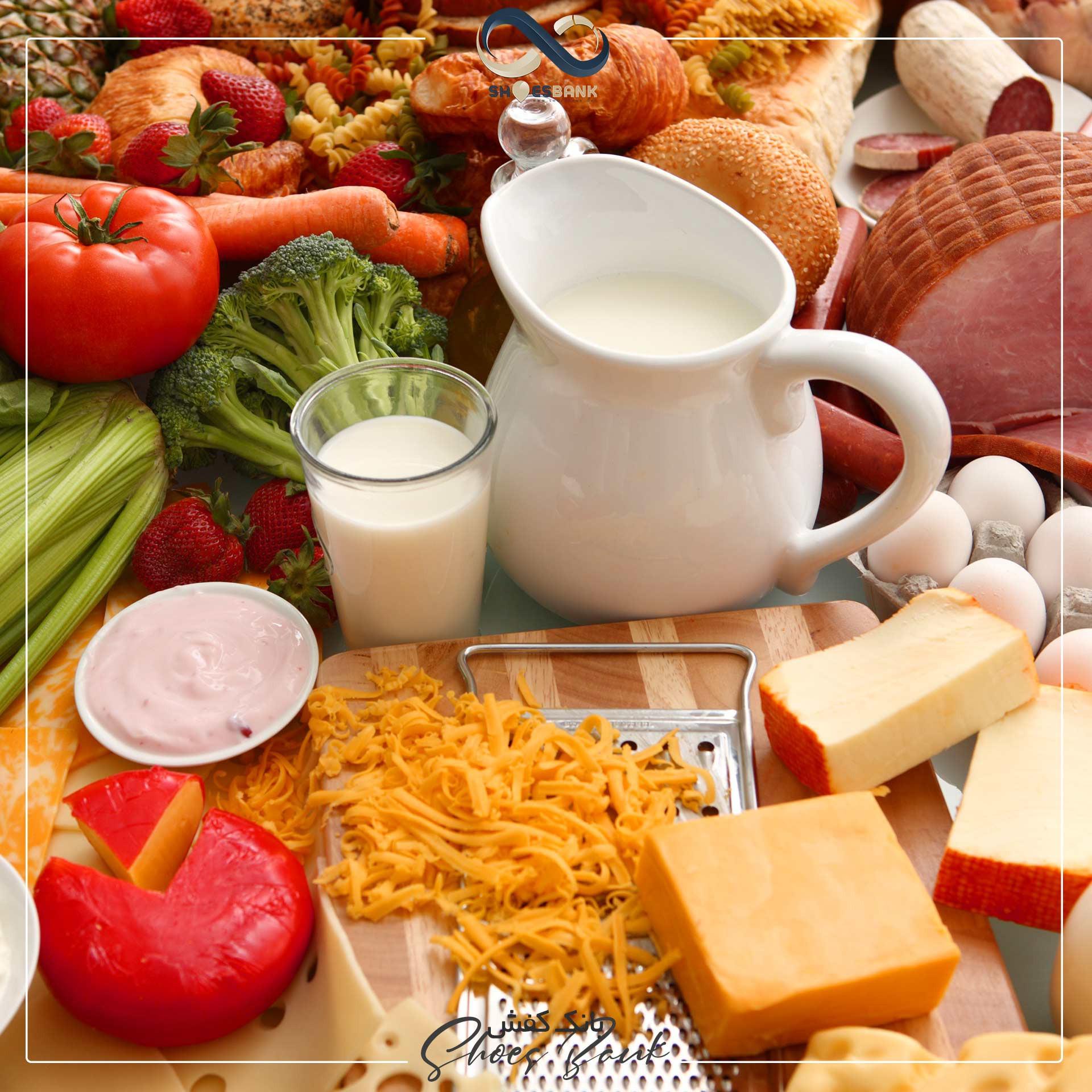 مواد غذایی که برای درمان خارپاشنه مفید هستند