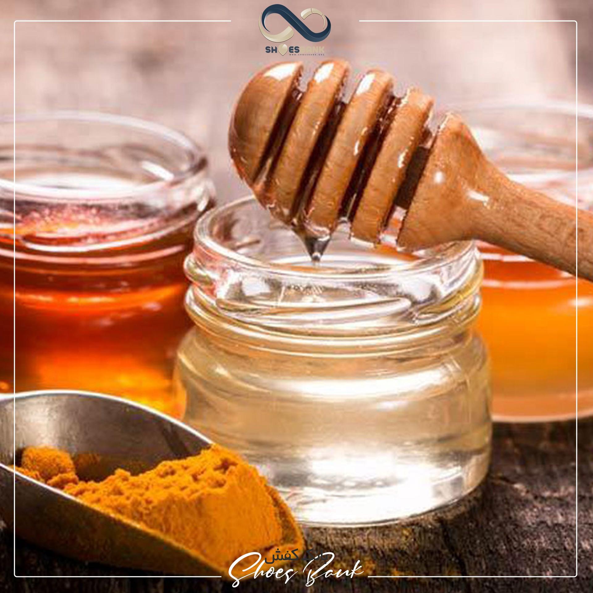 درمان خانگی میخچه با عسل