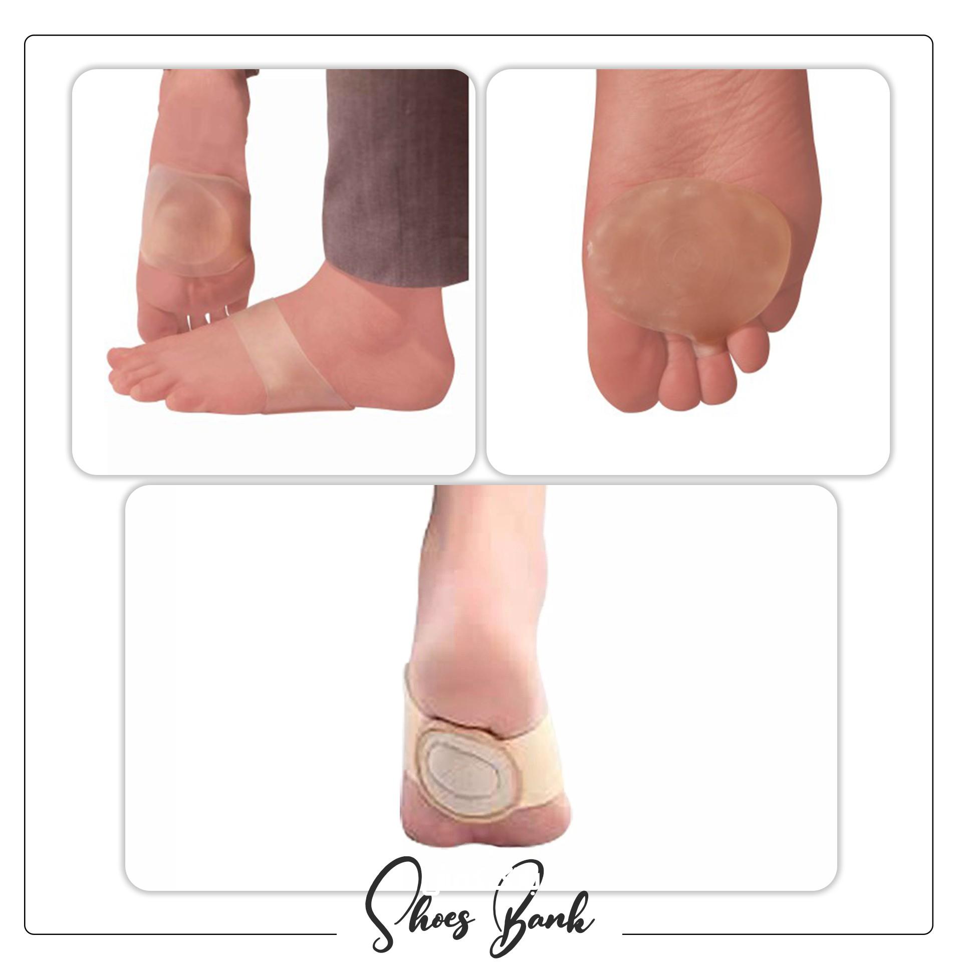 پدهای مخصوص التیام پخش و  کاهنده فشارروی پا در مبتلایان نوروم مورتون