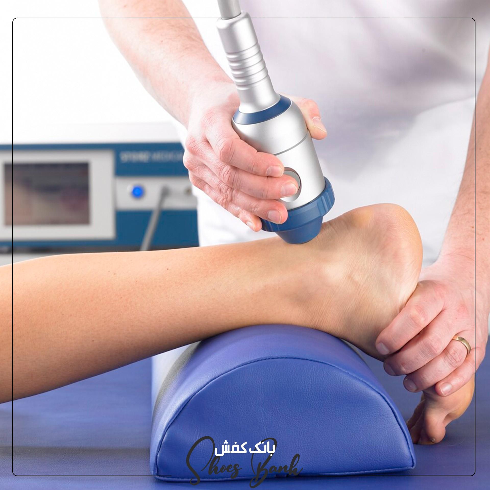 شاک ویو تراپی با ایجاد گردش خون در پا در درمان آرتروز نقش بسزایی دارد