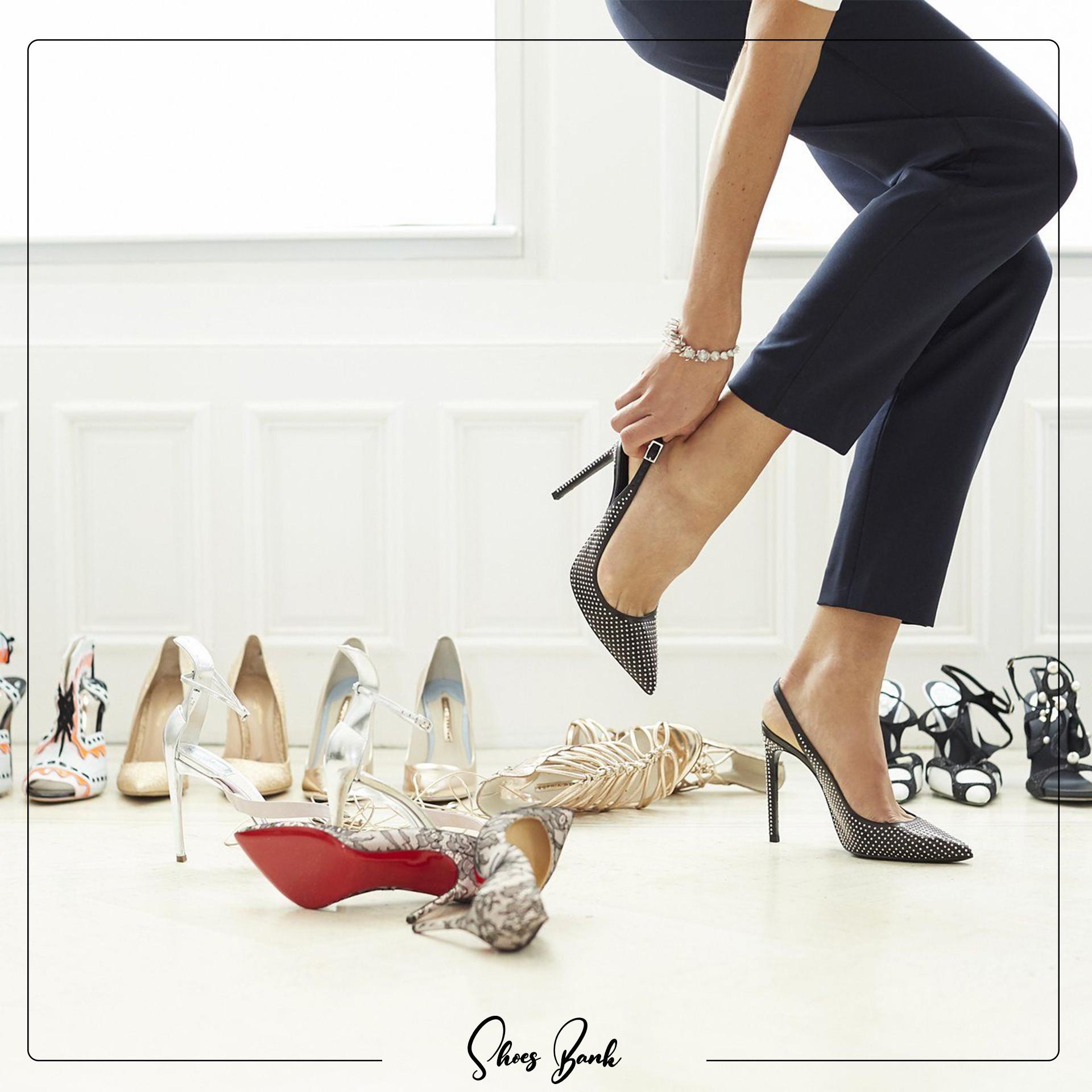 پوشیدن کفش نامناسب